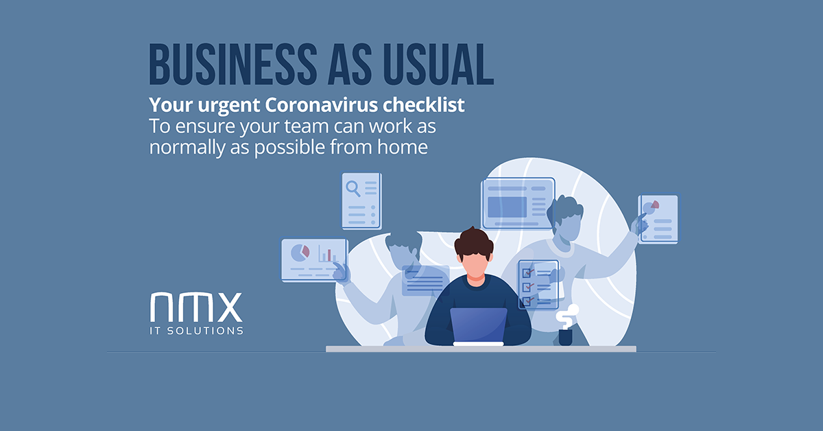 Your Urgent Coronavirus IT Checklist